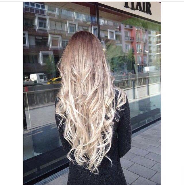 Pinterest mjjlla hair pinterest cheveux blancs blond platine et extensions - Ombre et air ...
