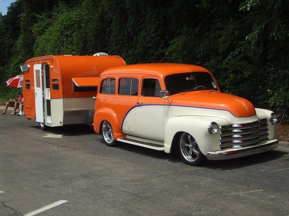 Photo of Vintage Camper Trailers