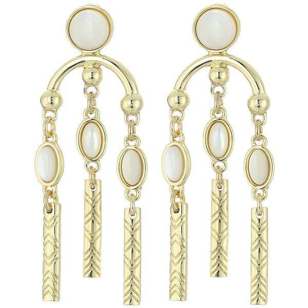 House Of Harlow Desert Oasis Drop Earrings in Metallic Gold FuwwwAcxES