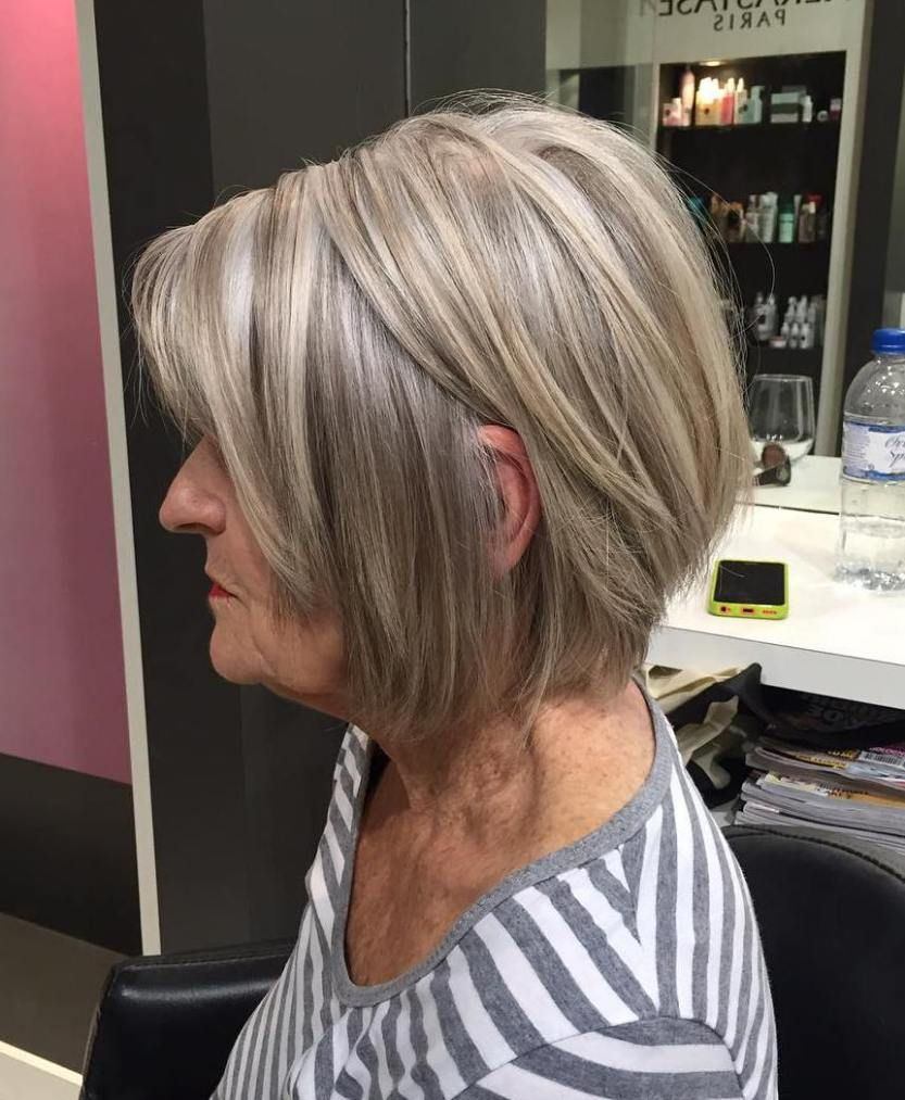 gorgeous grey hair styles blonde layers layered bobs and ash