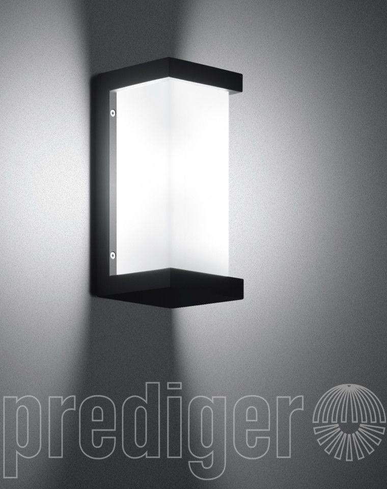 Bega Wandleuchten mit zweiseitig abgeblendetem Kristallglas - LED ...