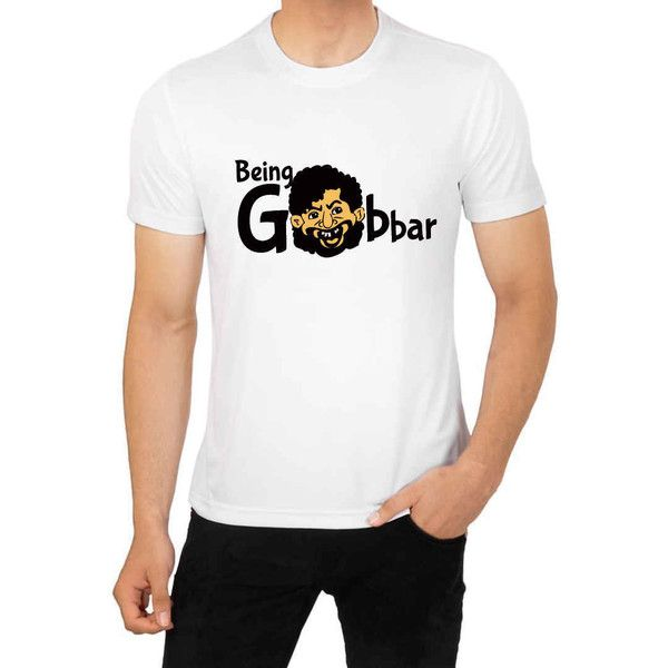 Buy Being Gabbar T-shirt For Men Online Gift in India - WahGifts ...