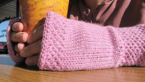 Ravelry: honeycomb wrist warmers knit pattern by Courtney ...