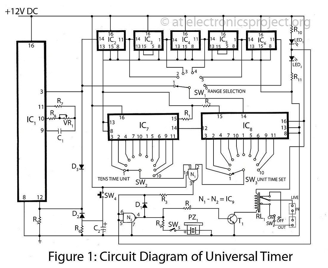 medium resolution of circuit diagram of universal timer circuit diagram electronic schematics