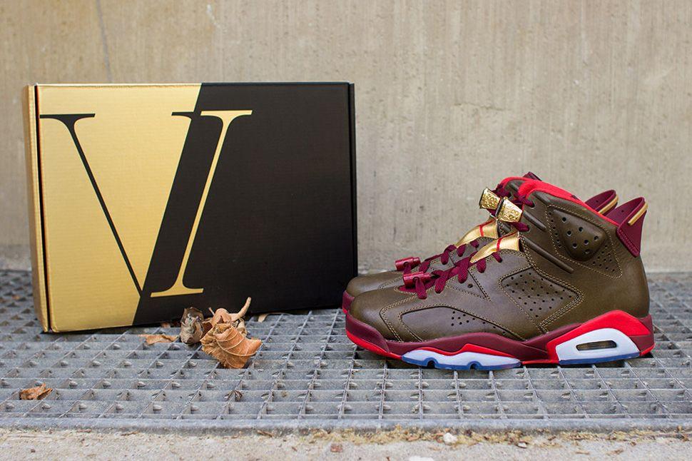 "Air Jordan 6 Retro ""Champagne & Cigar†Pack (Detailed"