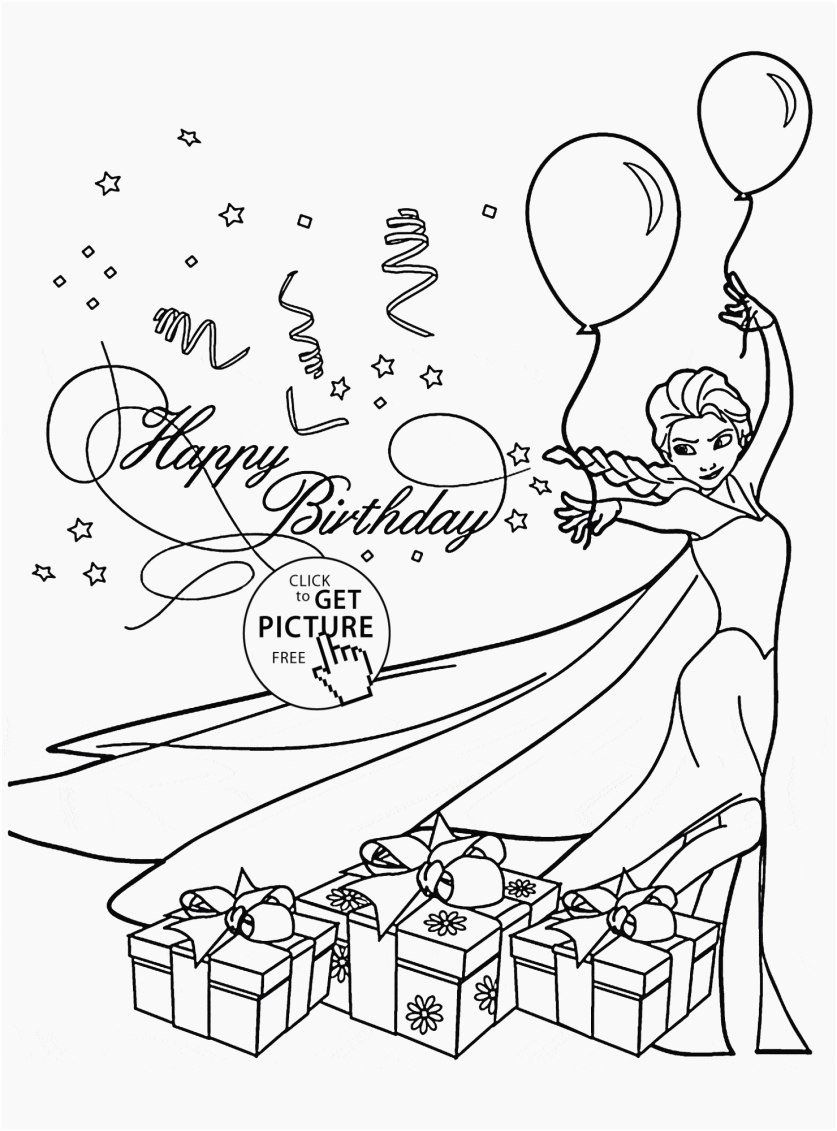 Happy Holidays Coloring Pages Elegant Free Holiday Coloring Pages To Print Footage Co In 2020 Happy Birthday Coloring Pages Elsa Coloring Pages Coloring Birthday Cards