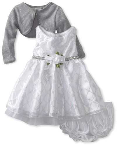 1b48b7b3897eb Sweet Heart Rose Baby-girls Infant Sleeveless Occasion Dress With Cardigan   29.00