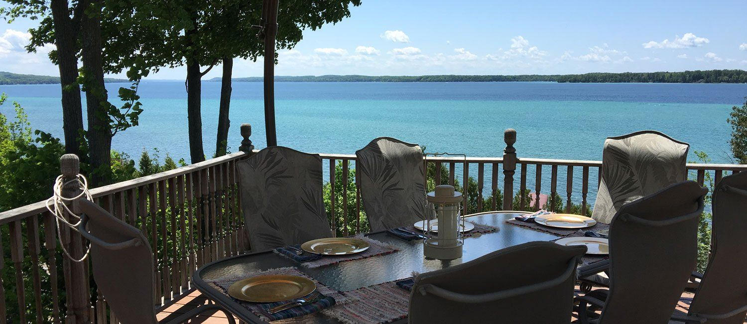 The Torch Lake Bed & Breakfast in Central Lake, MI Dream