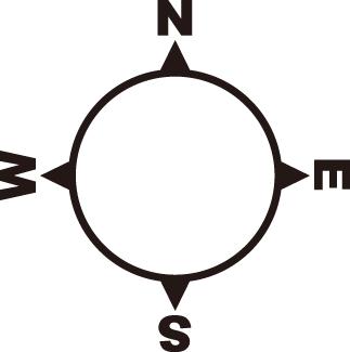 方位記号 方位マークの無料フリーダウンロードイラスト Compass Design 記号 案内図 デザイン