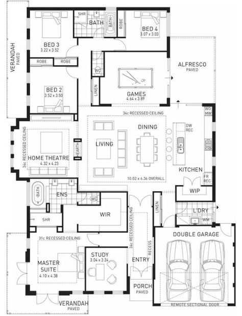 Plan Maison Familiale floor plan friday: kids at the back, parents at the front! | single