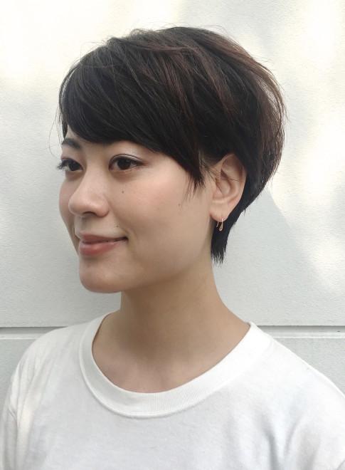 【ショートヘア】森星風ショートヘアー/BEAUTRIUM 福岡の髪型…