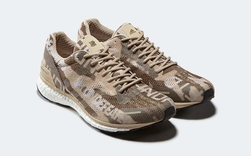 pretty nice a95da d67fb ADIDAS X UNDEFEATED ADIZERO ADIOS 3 B27771 Size 10.5 Desert Camo Mens New  adidas AthleticSneakers