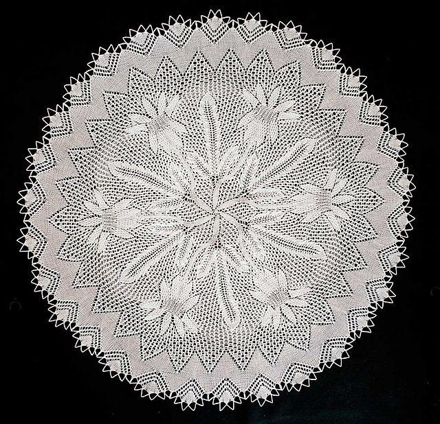 Ravelry: Distel pattern by Herbert Niebling