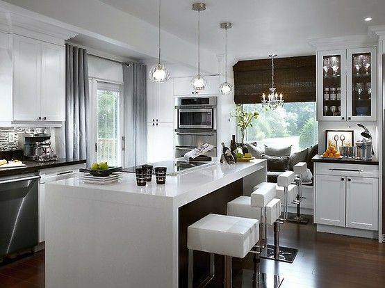 Track Light Chandeliers Modern Kitchen Island Kitchen Design