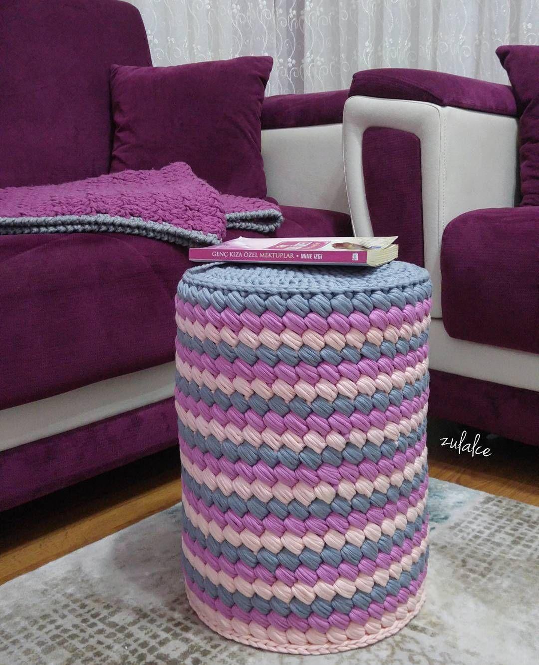 2 398 Otmetok Nravitsya 140 Kommentariev Esma Zulalce V Instagram Gunaydin Evet Marsmelov Sepete Bakinca Silind Crochet Patterns Trapillo Instagram