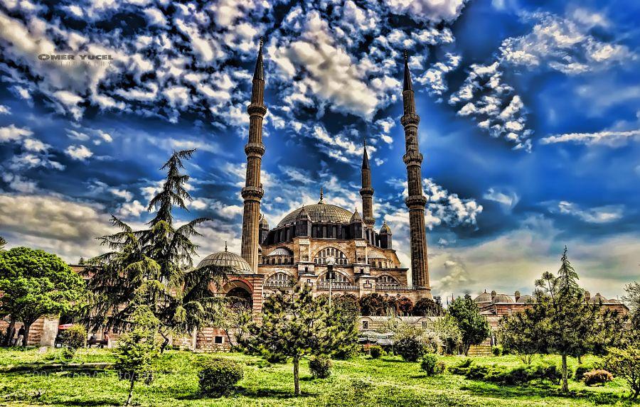 Selimiye camii Edirne by omer72. @go4fotos