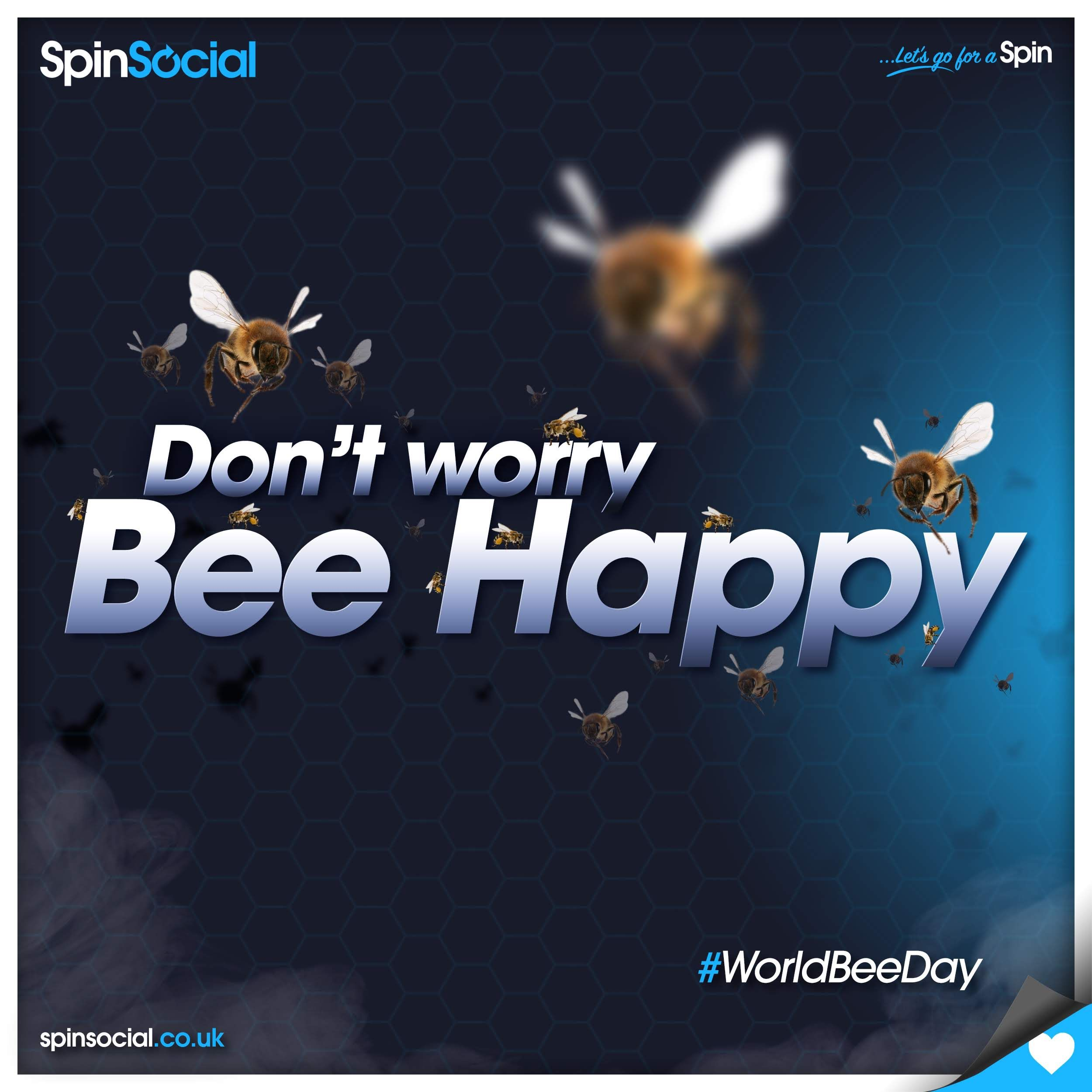 Happy World Bee Day! Let's Do Everything To Save These