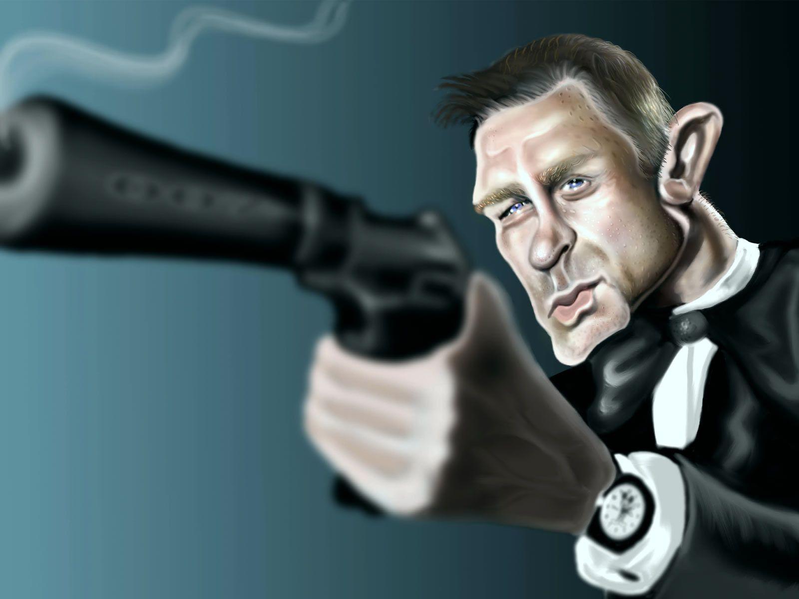 мне прикольные картинки 007 более сложные варианты