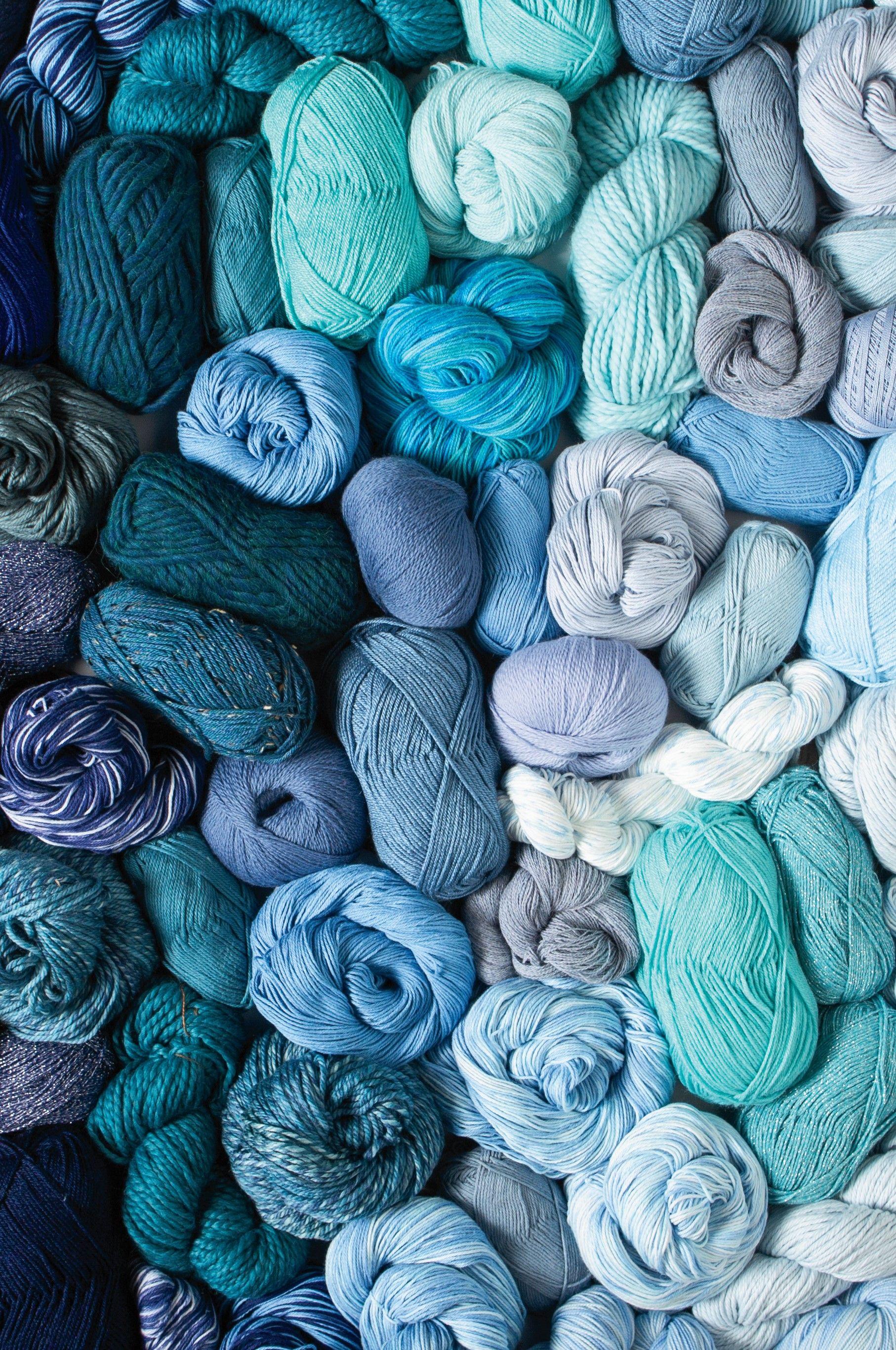 A Wave Of Blue Yarn Macrame Patterns Tutorials Knit Picks Yarn Yarn
