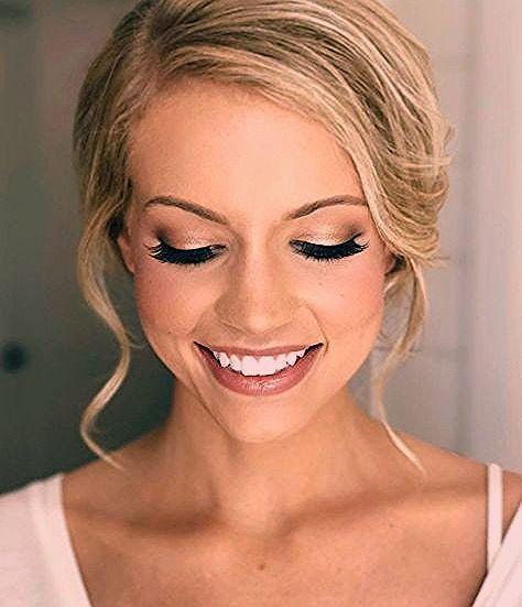 Photo of Braut Make up Ideen Hochzeit Make up z. Hd. braune Augen blaue