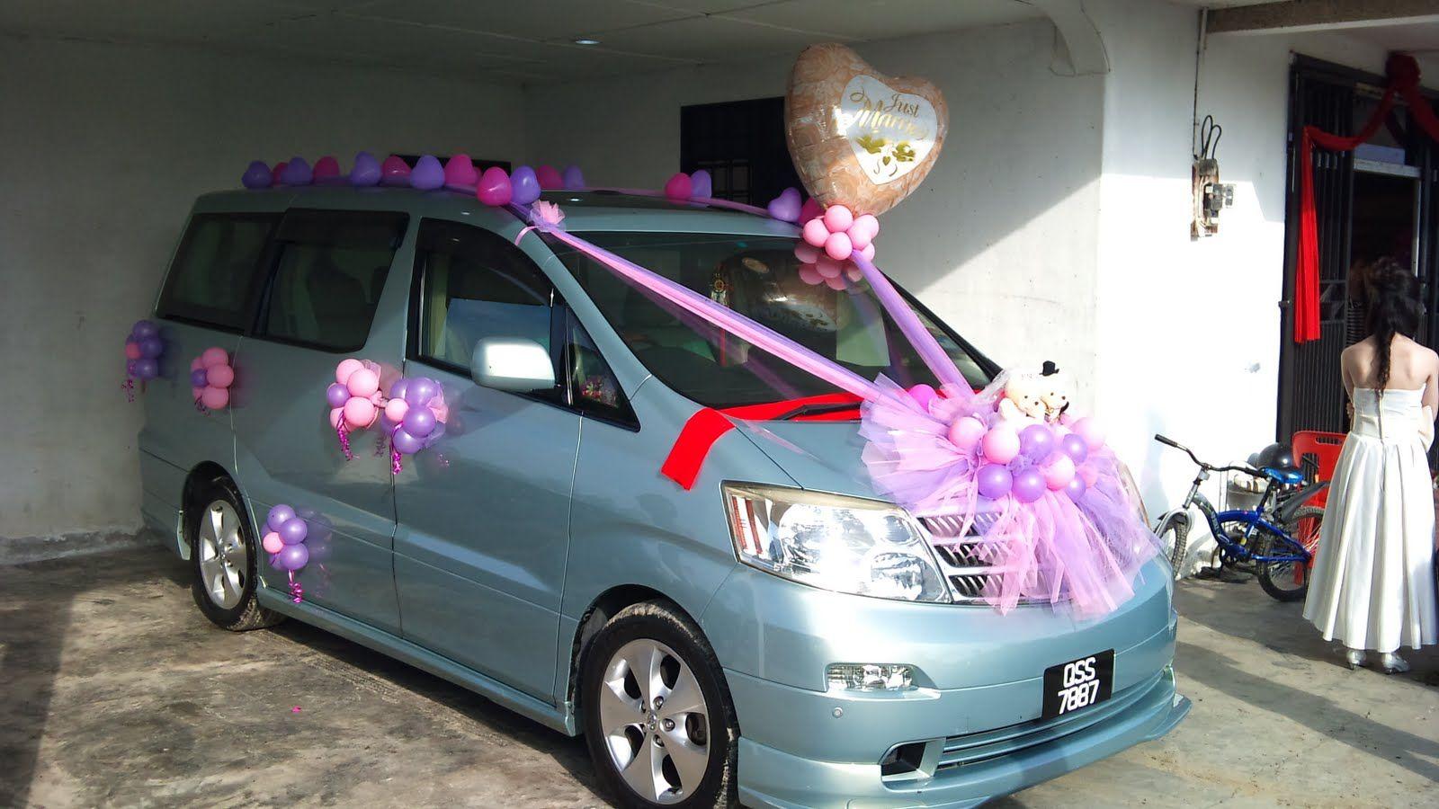 Wedding Car Decorate Wedding Car Decorated With New Ideas Wedding Cars Decorted