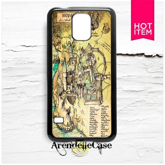 Hogwarts Classic Map Samsung Galaxy S5 Case