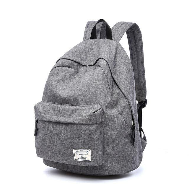 316144791f78 Brand Casual Oxford Fashion Lightweight Women School Backpacks Bag  Waterproof Men Backpack Laptop Bagpack Back Pack