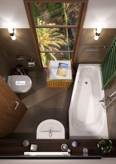 So kommen kleine Badezimmer groß raus Spa bathrooms - fototapete für badezimmer