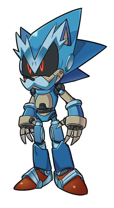 Roboticized Uncle Chuck By Oyoydeviantartcom On At Deviantart Sonic
