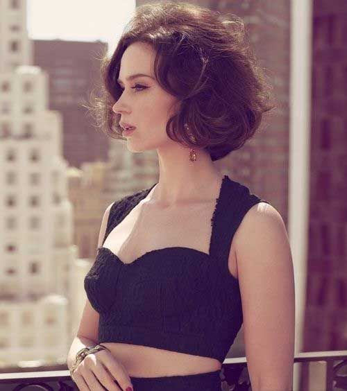 Celebrity Hairstyles 2015 Fall Celebrity Short Hair Short Hair Styles Haircuts For Wavy Hair