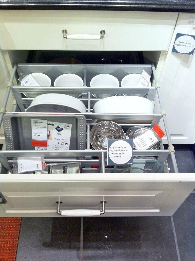 ikea kitchens storage systems blind corner solutions pinterest