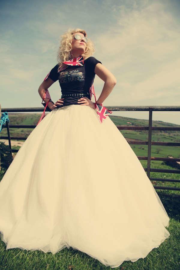 1e790e0b8087 A Rockin Wedding Dress Inspiration Shoot from Assassynation and ...