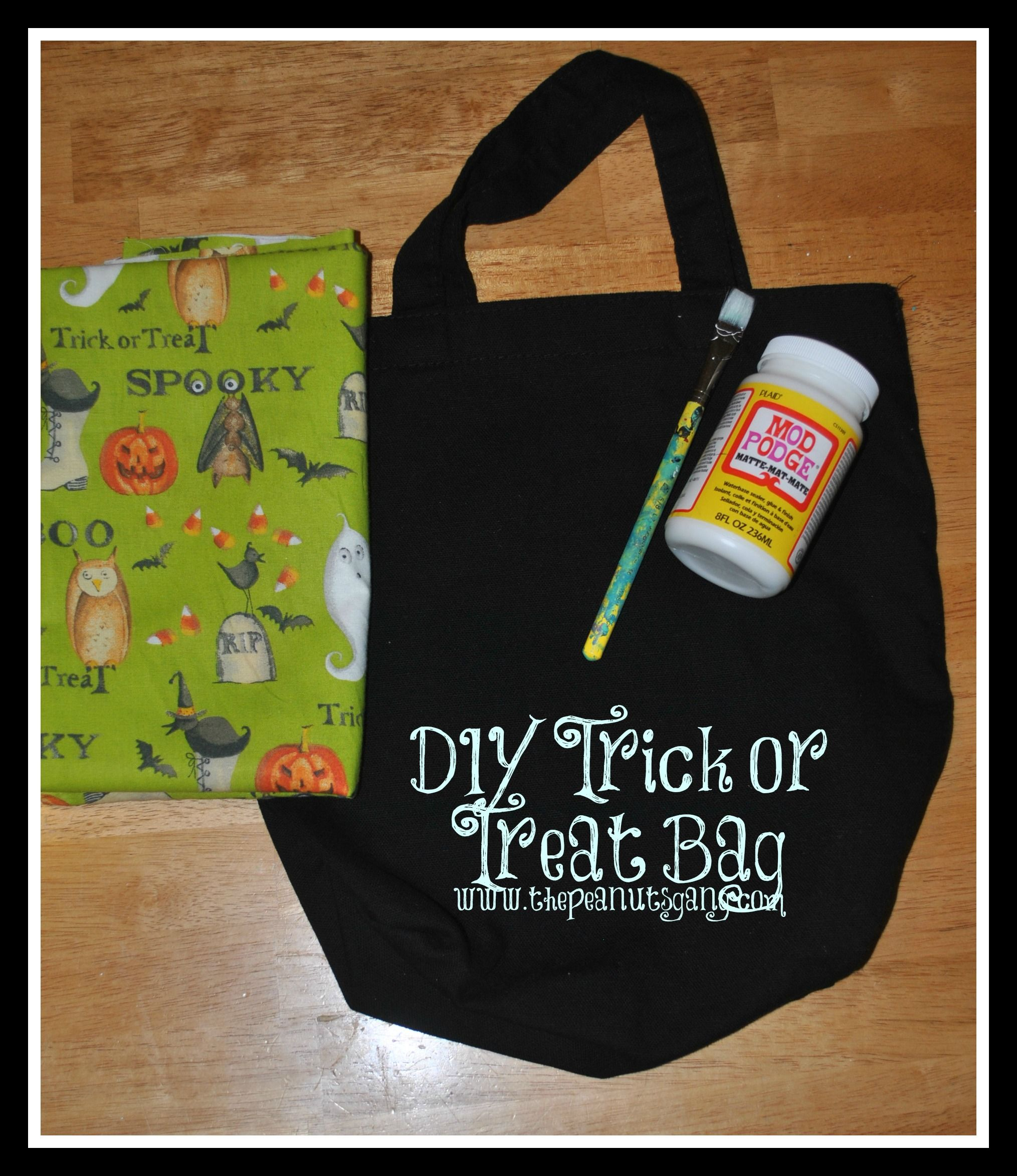 DIY Trick or Treat Bags Trick or treat, Treat bags
