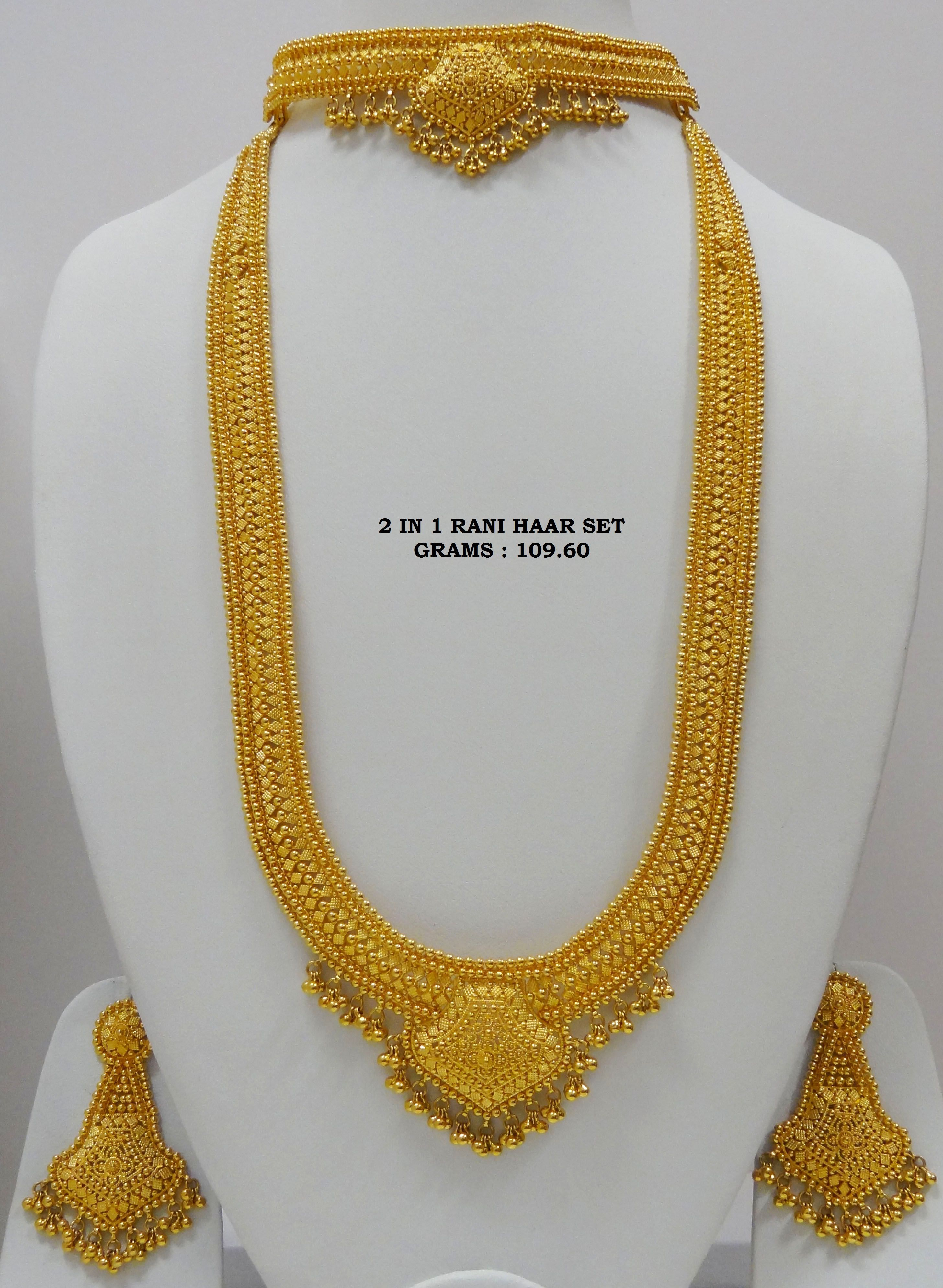 Gold rani haar pictures to pin on pinterest - 22ct Gold Necklace Set Google Search