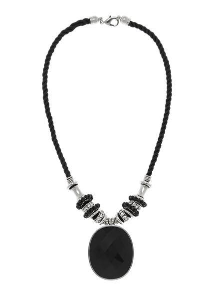 Le noir et blanc est de retour cette saison: ce bijou imposant s'agencera parfaitement à votre look monochromatique!...7030773-2192