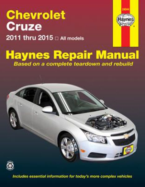 chevy cruze haynes repair manual 2011 2015 vehicles covered chevy rh pinterest com 1923 Haynes Sport Coupelet Haynes Auto Sales Hardyville KY