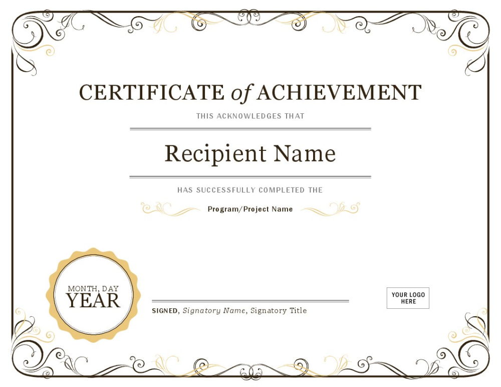 Certificates Office With Sports Award Certificate Template Word Certificate Of Completion Template Graduation Certificate Template Free Certificate Templates