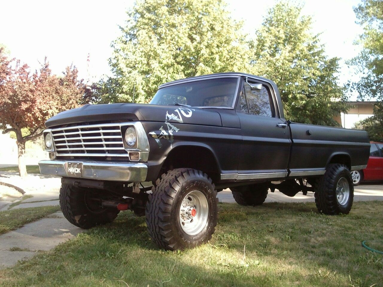 67 Ford Highboy Ford Trucks Old Ford Trucks Ford Pickup
