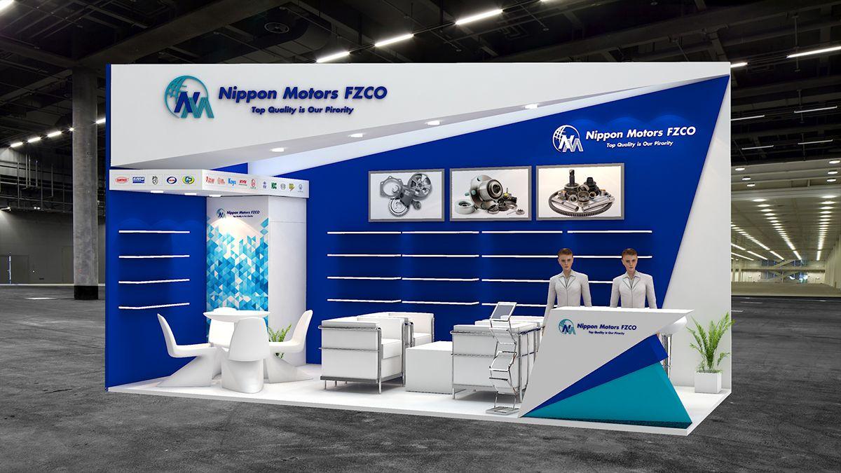 Nippon Motors Exhibition Design for Automechanica Dubai.