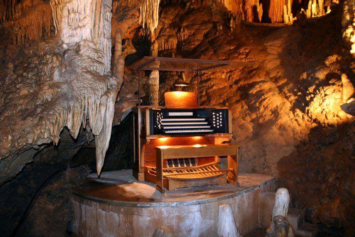 luray cave in virginia has a stalagtite organ