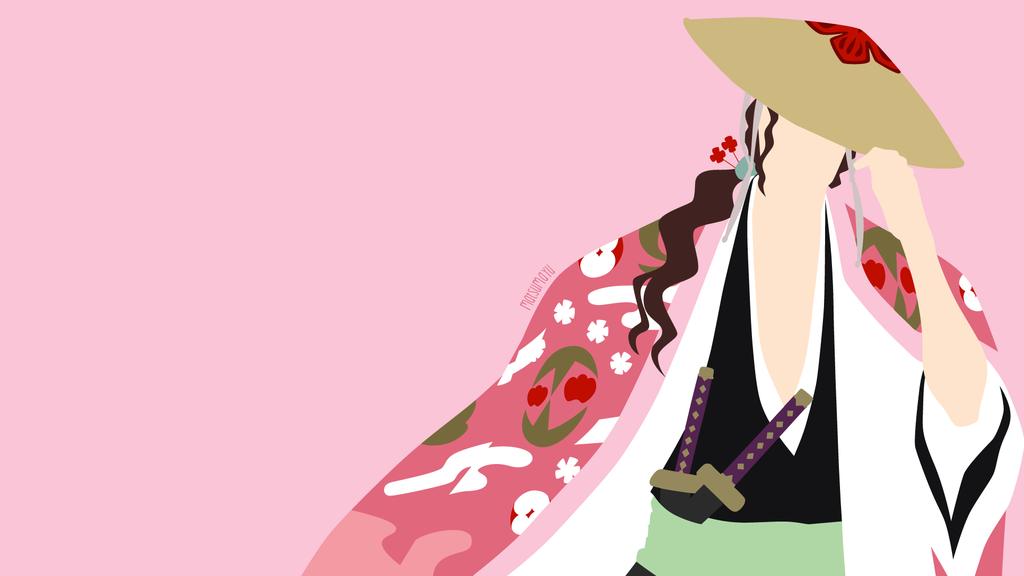 Shunsui Kyoraku from Bleach   Minimalist by matsumayu ...