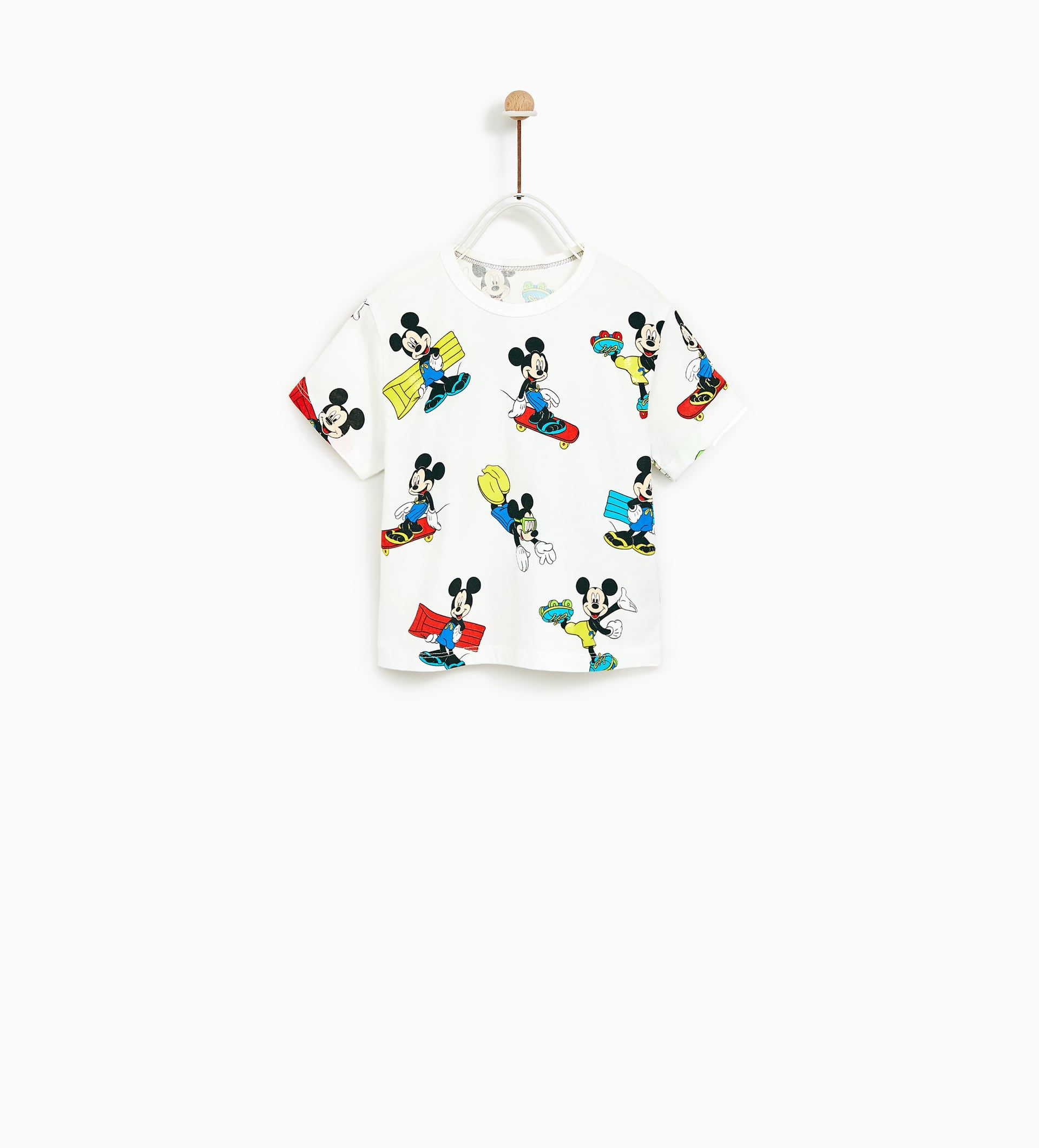 f9a0a172 Image 1 of MICKEY MOUSE TOP from Zara | Koš | Mickey mouse t shirt ...