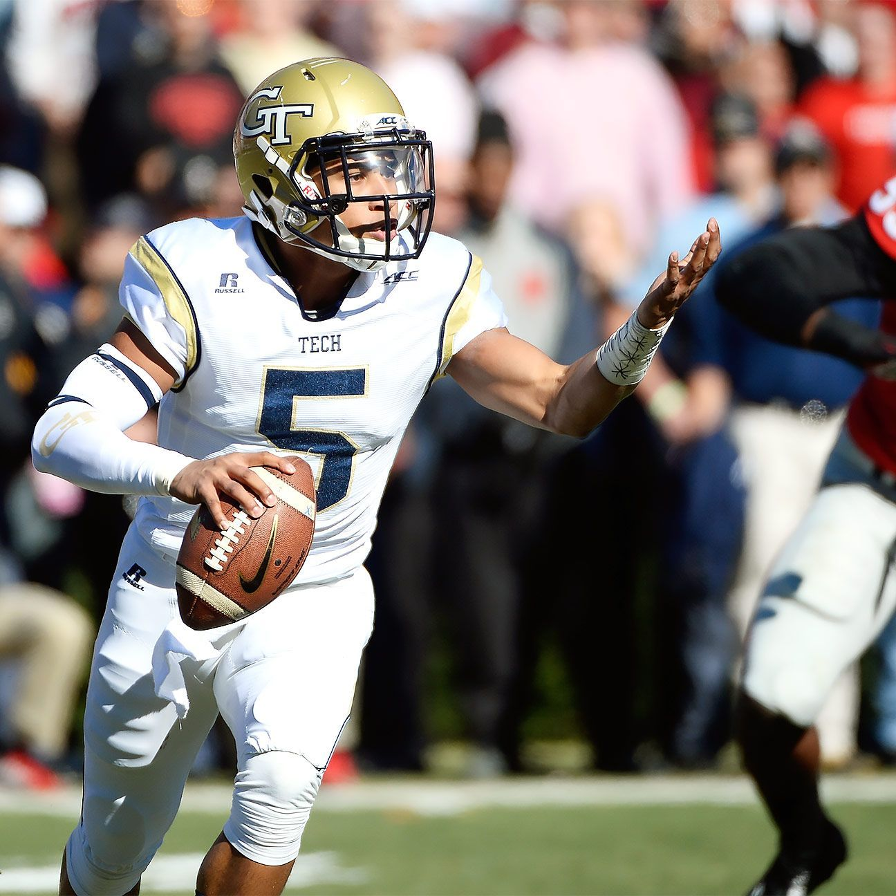 Justin Thomas is Tech's quiet leader Justin