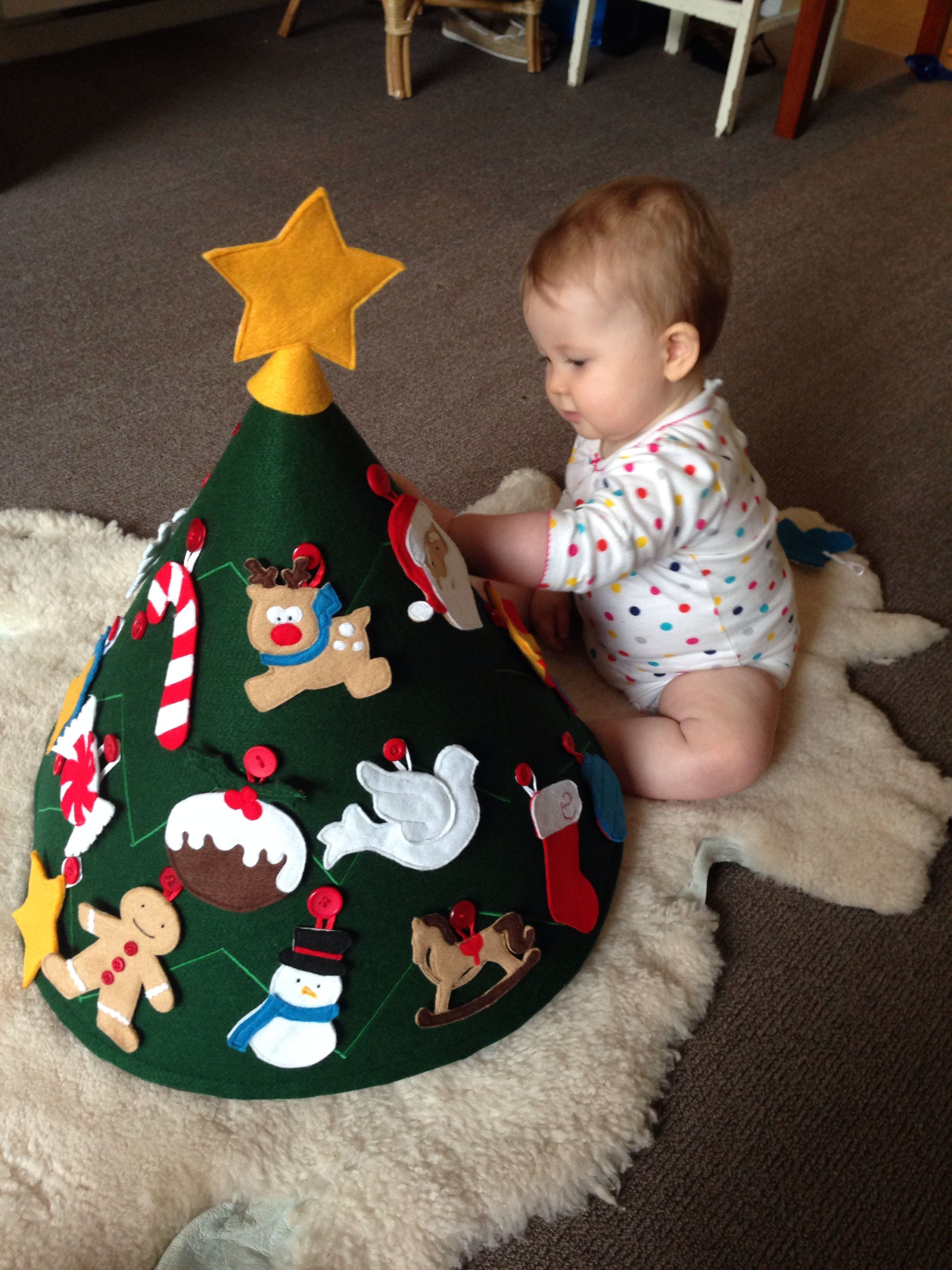 Kerstboom Met Velcro Diy Christmas Toddler Christmas En Felt