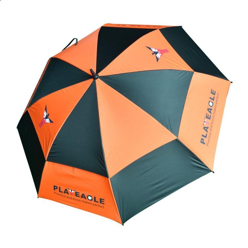 Premium 4 Colors Waterproof Double Canopy Golf Umbrella Anti-UV Windproof Vented Canopy Fiberglass Frame  sc 1 st  Pinterest & Premium 4 Colors Waterproof Double Canopy Golf Umbrella Anti-UV ...