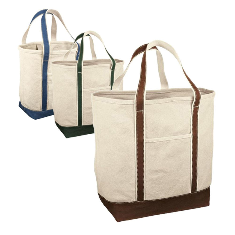 Large Heavyweight Canvas Tote Bags | Canvas tote bags, Red houses ...