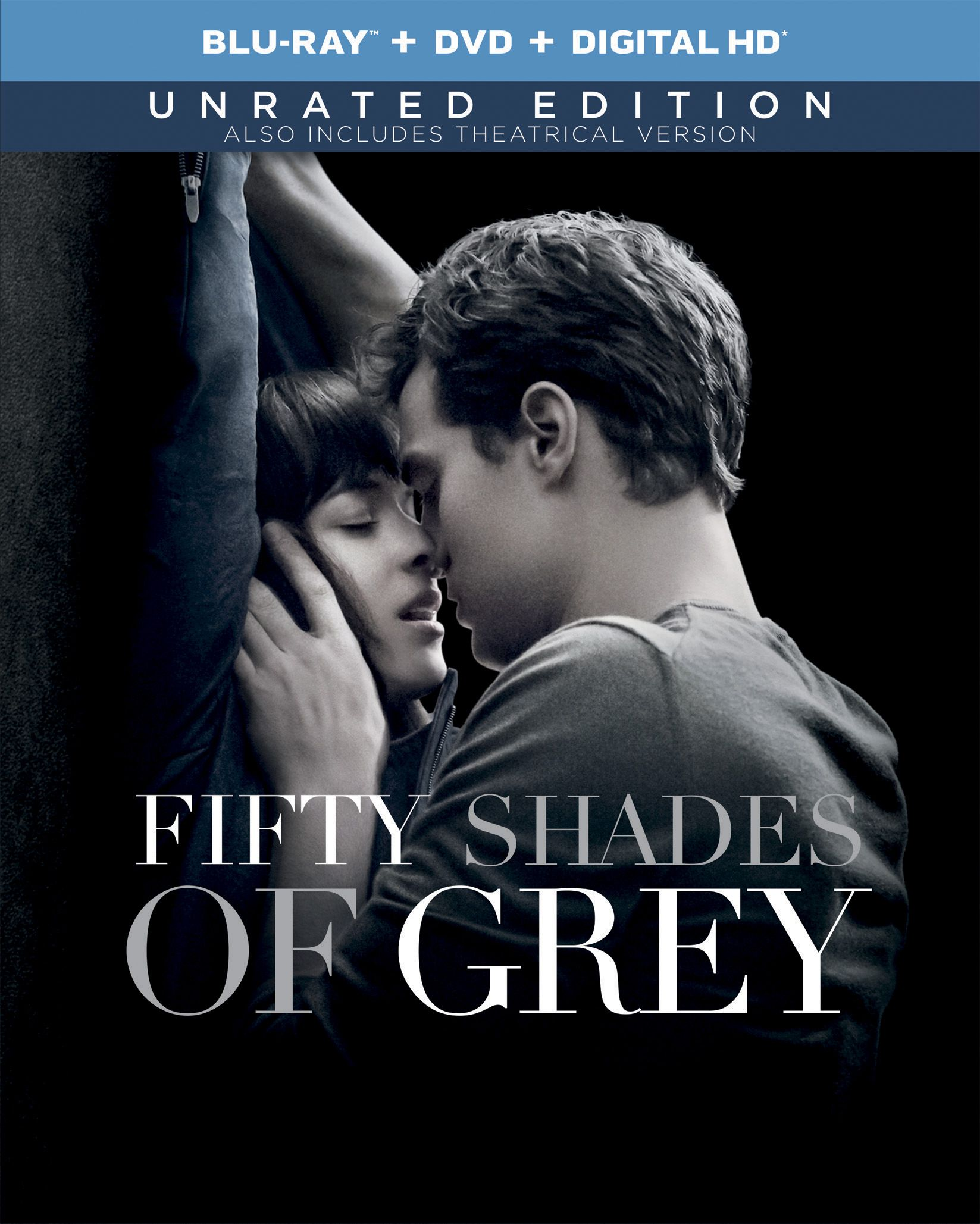 fifty shades of grey unrated edition with alternate ending on digital hd friday may 1 blu ray. Black Bedroom Furniture Sets. Home Design Ideas