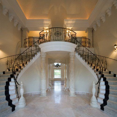 Double Staircase Foyer: Double Staircase, Yes Please!! It Would Fit Perfectly With