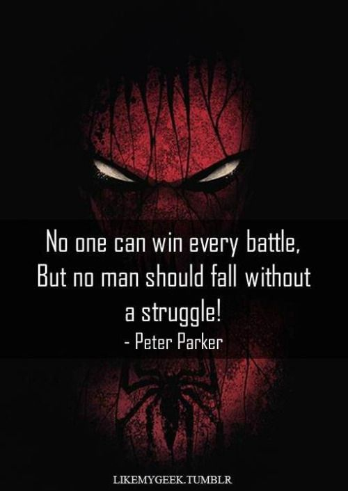 Spiderman Love Quotes Unique Spiderman Quotes  Google Search  Spiderman  Pinterest  Spiderman