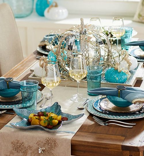 Photo of 5 Coastal Thanksgiving Table Decor Ideas